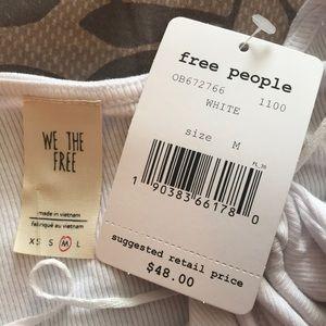 Free People Tops - Free People Ruffle Edge Trim